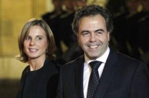 Astrid Herrenschmidt et Luc Chatel