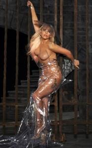 Lady Gaga seins nus