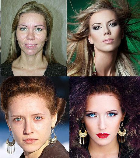 ces-deux-femmes-ont-ete-maquillees-pour-devenir-de-veritables-mannequins