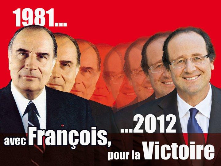 François Hollande-Mitterrand